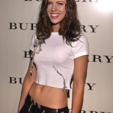 at the grand opening of the Burberry Store in Beverly Hills, to benefit the Shakespeare Festival L.A., 10-25-01