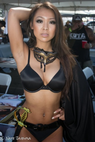 Extreme Autofest Anaheim 2013 Promo Girls and Models