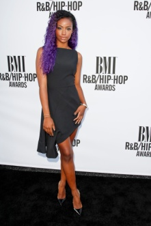 HOLLYWOOD, CA - AUGUST 22: Justine Skye attends the 2014 BMI R&B/Hip-Hop awards at the Pantages Theatre on August 22, 2014 in Hollywood, California. (Photo by Tibrina Hobson/WireImage)