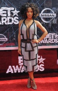 2015 BET Awards held at the Microsoft Theater - Arrivals Featuring: Serayah Where: Los Angeles, California, United States When: 28 Jun 2015 Credit: WENN.com
