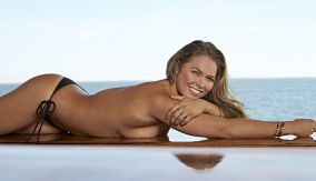 SI Swimsuit 2015 - Athletes Shoot Ronda Rousey South Seas Resort/Captiva Island, Florida, USA 11/11/2014 X158908 TK1 Credit: Walter Iooss Jr. Swimsuit by: TK
