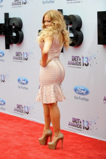 LOS ANGELES, CA - JUNE 30: Melissa De Sousa arrives at the 2013 BET Awards at Nokia Plaza L.A. LIVE on June 30, 2013 in Los Angeles, California. (Photo by Allen Berezovsky/WireImage)